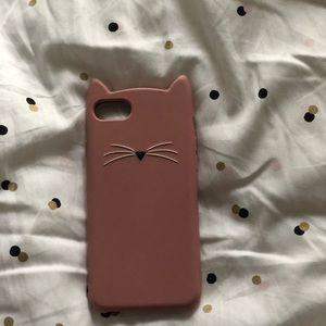 Kate spade cat iPhone case